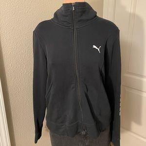 Puma Athletic Zip Up Jacket Sz L